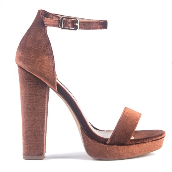 Brown Suede Platform Heels | Poshmark